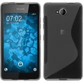 Silicone Case for Microsoft Lumia 650 S-Style gray