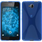 Silicone Case for Microsoft Lumia 650 X-Style blue