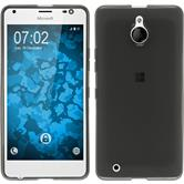 Silicone Case for Microsoft Lumia 850 transparent black
