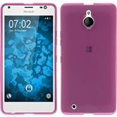 Silicone Case for Microsoft Lumia 850 transparent pink