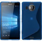 Silicone Case for Microsoft Lumia 950 XL S-Style blue