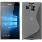 Silicone Case for Microsoft Lumia 950 XL S-Style transparent