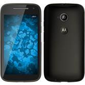 Silicone Case for Motorola Moto E 2015 2. Generation Slimcase gray
