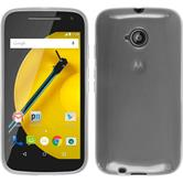 Silicone Case for Motorola Moto E 2015 2. Generation transparent white