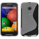 Silicone Case for Motorola Moto E S-Style transparent