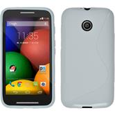 Silicone Case for Motorola Moto E S-Style white