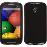 Silicone Case for Motorola Moto E transparent black