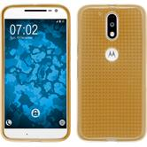 Silicone Case for Motorola Moto G4 Iced gold