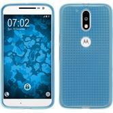 Silicone Case for Motorola Moto G4 Iced light blue