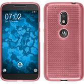Silicone Case for Motorola Moto G4 Play Iced pink