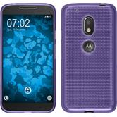 Silicone Case for Motorola Moto G4 Play Iced purple