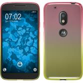 Silicone Case for Motorola Moto G4 Play Ombrè Design:01