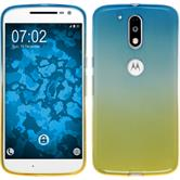 Silicone Case for Motorola Moto G4 Plus Ombrè Design:02
