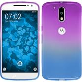 Silicone Case for Motorola Moto G4 Plus Ombrè Design:04