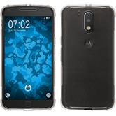 Silicone Case Moto G4 Plus ShockProof gray