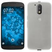 Silicone Case for Motorola Moto G4 Plus transparent white