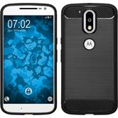 Silicone Case Moto G4 Plus Ultimate black