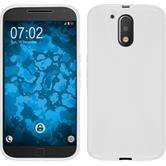 Silicone Case for Motorola Moto G4 Plus X-Style white