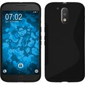 Silicone Case for Motorola Moto G4 S-Style black