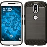 Silicone Case Moto G4 Ultimate gray