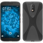Silicone Case for Motorola Moto G4 X-Style gray