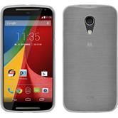 Silicone Case for Motorola Moto G 2014 2. Generation brushed white