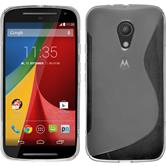 Silicone Case for Motorola Moto G 2014 2. Generation S-Style transparent