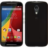 Silicone Case for Motorola Moto G 2014 2. Generation transparent black
