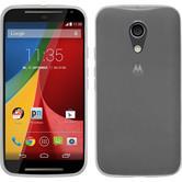 Silicone Case for Motorola Moto G 2014 2. Generation transparent white