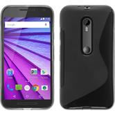 Silicone Case for Motorola Moto G 2015 3. Generation S-Style gray