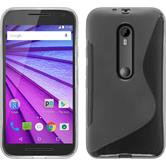 Silicone Case for Motorola Moto G 2015 3. Generation S-Style transparent