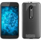 Silicone Case for Motorola Moto G 2015 3. Generation transparent Crystal Clear
