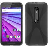 Silicone Case for Motorola Moto G 2015 3. Generation X-Style gray