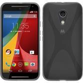 Silicone Case for Motorola Moto G 2014 2. Generation X-Style gray