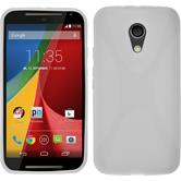 Silicone Case for Motorola Moto G 2014 2. Generation X-Style white