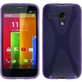 Silicone Case for Motorola Moto G X-Style purple