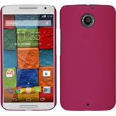 Silicone Case for Motorola Moto X 2014 2. Generation brushed pink