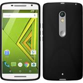 Silicone Case for Motorola Moto X Play X-Style black