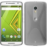 Silicone Case for Motorola Moto X Play X-Style gray