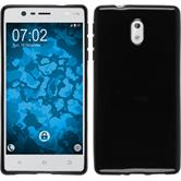 Silicone Case for Nokia 3  black