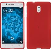 Silicone Case for Nokia 3 matt red