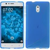 Silicone Case Nokia 3 S-Style blue