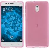 Silicone Case for Nokia 3 transparent pink