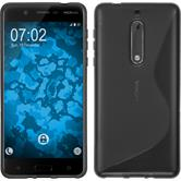 Silicone Case for Nokia 5 S-Style gray