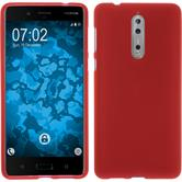 Silicone Case 8 matt red Case