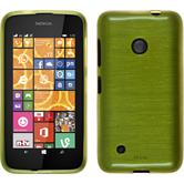 Silicone Case for Nokia Lumia 530 brushed pastel green