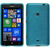 Silicone Case for Nokia Lumia 625 brushed blue