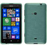 Silicone Case for Nokia Lumia 625 brushed green