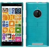 Silicone Case for Nokia Lumia 830 brushed blue