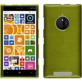 Silicone Case for Nokia Lumia 830 brushed pastel green